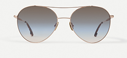 Morgan in Brushed Rose Gold  Sunglasses