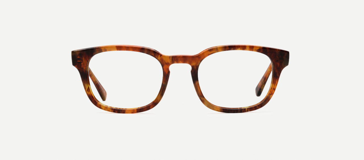Eyeglasses - Malcolm - Front View
